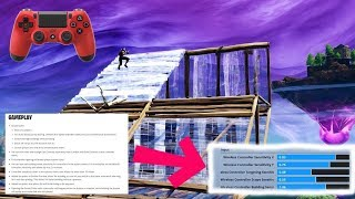 *NEW* INSTANT Builds on Console + They added BUILDING Sensitivity