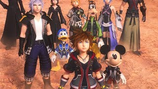 Kingdom Hearts 3 - Final Boss & All Endings