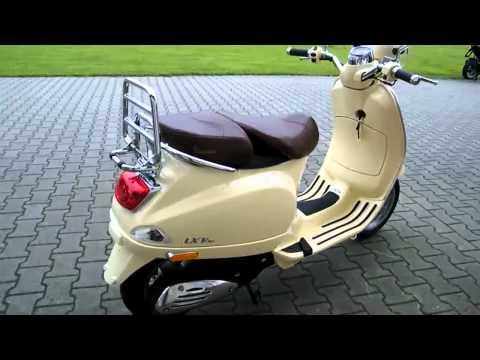 Vespa LXV 50 -11 Roller/Scooter Beige Siena 2011