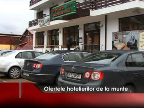 Ofertele hotelierilor de la munte