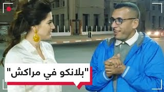 نجمة أمريكية تعجب بسائق تاكسي مغربي بمراكش