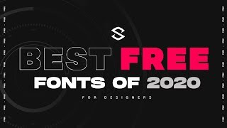 Best Free Fonts For Designers (2020)