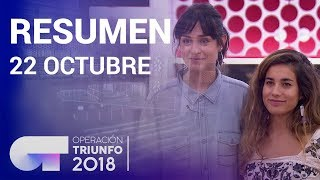 Resumen diario OT 2018 | 22 OCTUBRE