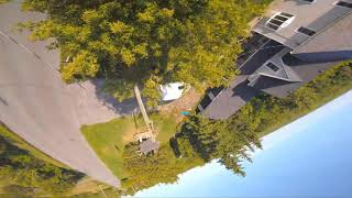 FPV FREESTYLE in the garden.