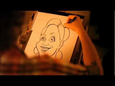 Jon-Paul The Caricaturist Video