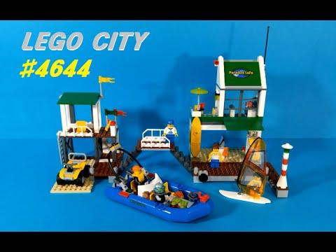 Vidéo LEGO City 4644 : Le port de plaisance