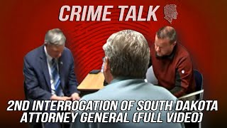 2nd Interrogation of South Dakota Attorney General (Full Video)