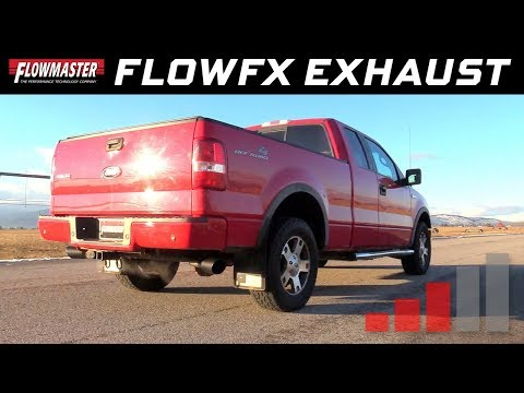 2004-08 F-150 trucks, 4.6L, 5.4L - FlowFX Cat-back Exhaust System 717868