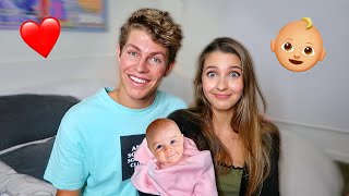 BECOMING PARENTS TO BABY FOR 24 HOURS! Ft. Lexi Rivera
