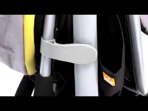 Joie Litetrax 3-Wheeled Stroller – How To Use | BabySecurity