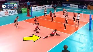 Craziest Saves in Volleyball History (HD)