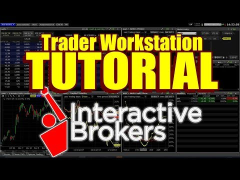 Trader Workstation Tutorial – How to Trade Options in TWS