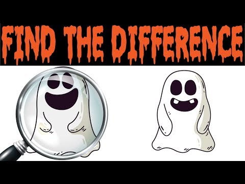 Enjoy a Halloween Themed Spot the Difference Game