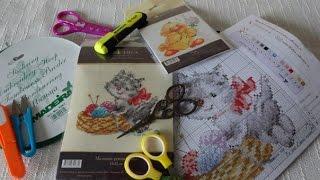 Смотреть онлайн Что нужно для вышивания крестиком