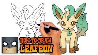 Leafeon  - (Pokémon) - How to Draw Leafeon   Pokemon