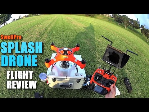 SwellPro SPLASH DRONE (Waterproof Drone) – Review – [Flight Test / Pros & Cons]