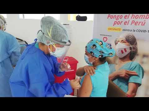 Hospital Loayza culminó Campaña de Vacunación para la Primera Dosis contra la Covid-19