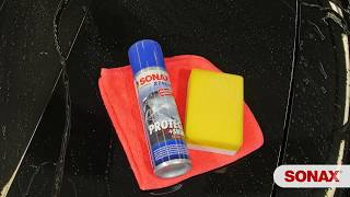 How to use SONAX Xtreme Protect+Shine