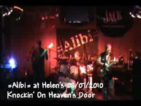 Alibi Live Knockin' On Heaven's Door Guns & Roses Cover