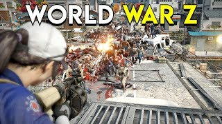 The Ultimate Zombie Experience! - World War Z Gameplay