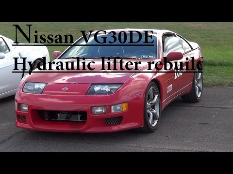 Фото к видео: Nissan lifter tick repair VG30DE Z32 300zx