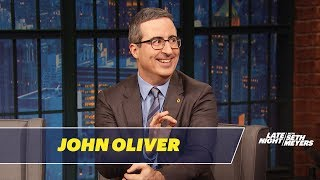 John Oliver's First On-Camera Role Was a British Stereotype