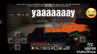 MINCRAFT adventure story  #3 wow i found 13 DAIMOND