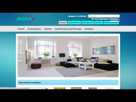 ADULO FENSTER SHOP - online Shop mit digitaler Preisliste