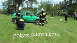 preview picture of video 'OSP Branice 2014 pokaz ratownictwa'