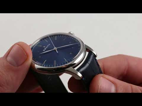 Pre-Owned Zenith Elite 6150 Luxury Watch Review