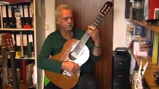 Bernd Purwin.  Learn a simple Rhythm of Gypsi. Einen spanischen Gypsi Anschlag lernen.