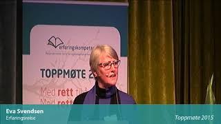 Toppmøte 2015 – Eva Svendsen