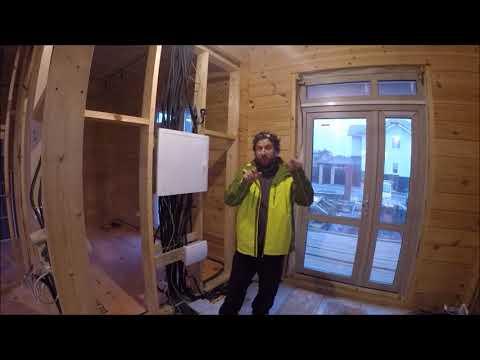 Электрика в деревянном доме. Как делать правильно?