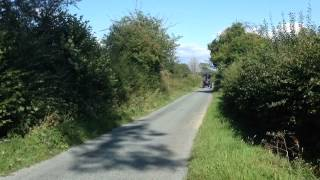 Marshall Traction Engine 78953 On The Road