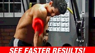 Tricep Workout Fix (SEE FASTER RESULTS!)