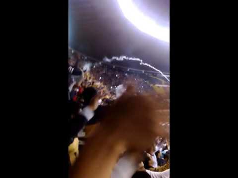 """La ReBeL semifinal Pumas vs América"" Barra: La Rebel • Club: Pumas"