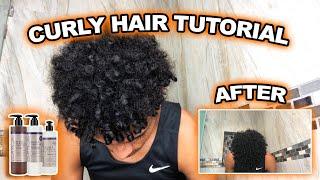 Curly Hair Tutorial   7 FAST STEPS !!