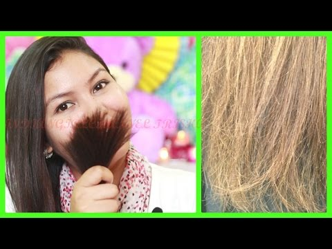 Video How to get rid of split ends / top 5 home remedies + easy tips for split ends