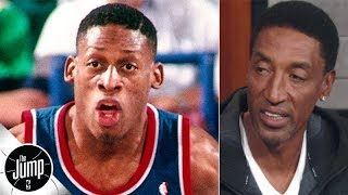 Scottie Pippen: Dennis Rodman's success convinced me I could make it in the NBA | The Jump