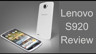 Lenovo S920 Hands On Video Review By Intellect Digest