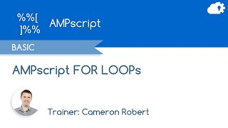 AMPscript FOR LOOP - Salesforce Marketing Cloud Functions in 5 minutes