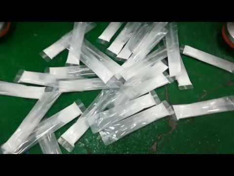 Fully automatic Bio CaoH+Mg+2n powder sachet packing machine 4lanes testing