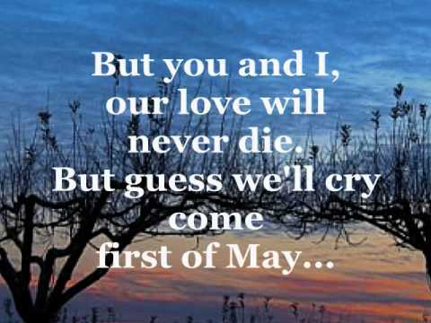 FIRST OF MAY (Lyrics) - THE BEE GEES