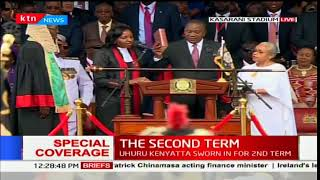 Uhuru's full inauguration ceremony