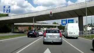 preview picture of video 'I/42: Brno, Velký městský okruh (2x)'