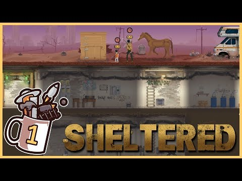 New Nuclear Family | Sheltered #1 - Let's Play / Gameplay