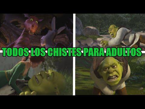 TODOS LOS CHISTES PARA ADULTOS DE SHREK (PELICULAS)