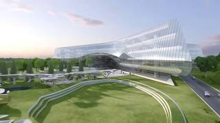 Sberbank Technopark by Zaha Hadid Architects