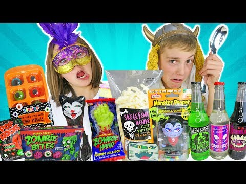 Halloween Candy Taste Test | Kids Cooking and Crafts