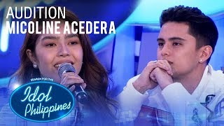 Micoline Acedera - Rise Up | Idol Philippines 2019 Auditions